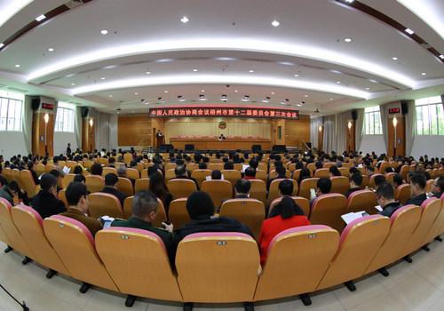 梧州市政协十二届三次会议举行第二次全体会议...