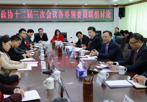 中共梧州市委书记黄俊华出席委员联组讨论