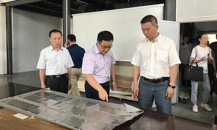 市领导到梧州三和新材料科技有限公司调研