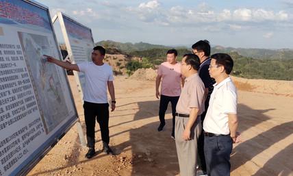市政协领导到藤县塘步镇冶金新材料基地调研...